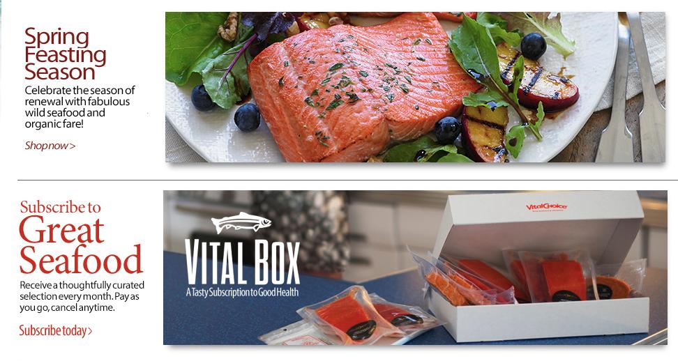 vitalchoice - best seafood subscription box